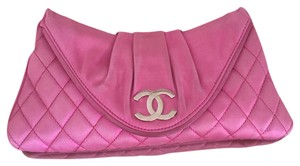 Chanel Pink Clutch
