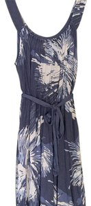 Anthropologie short dress Blue Print on Tradesy