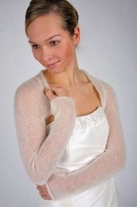 Bee Mohr Ivory Shrug