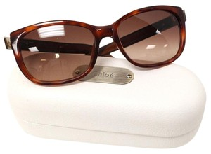 Chloé Chloe Signature Brown Havana Saskia Sunglasses 2175 C02