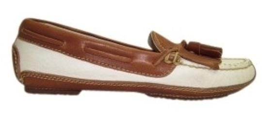 Preload https://item2.tradesy.com/images/cole-haan-whitebrown-casual-flats-size-us-5-151816-0-0.jpg?width=440&height=440