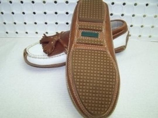Cole Haan Casual White/Brown Flats