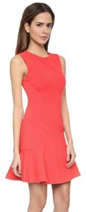 Diane von Furstenberg short dress Coral Elizabeth And James Black Halo Tory Burch Mara Hoffman Parker on Tradesy