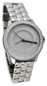 Nixon Nixon Women's Quartz Watch The Divvy White Granite with Metal Strap 38mm