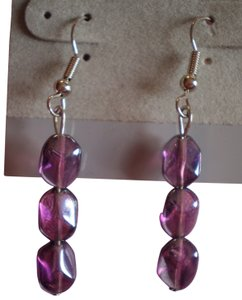 New Mauve dangle earrings