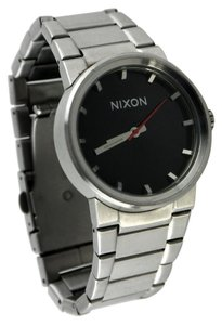 Nixon Nixon Men's 'Shoot To Thrill' The Cannon Stainless Steel Watch 39mm