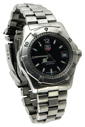 Tag heuer men 39 s professional g 3065 dive watch 38mm for Tag heuer divers watch