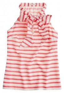 J.Crew Top coral/ivory