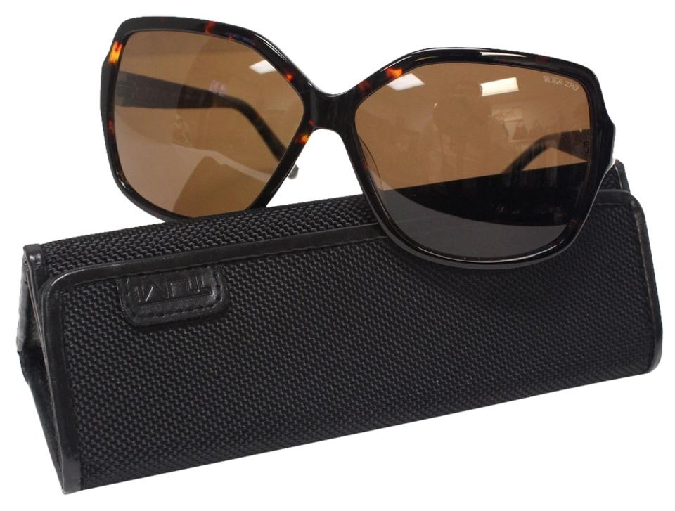 5e69b831a85 Tumi Tumi JetSet Luxury Signature Brown Havana Tortoise 62-12-135 Sunglasses  ...