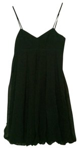 Club Monaco Evening Empire Waist Short Pleated Dress