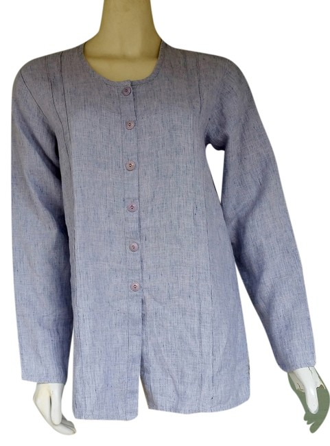 Preload https://item3.tradesy.com/images/flax-blue-by-jeanne-englehart-heathered-p-tunic-size-petite-4-s-1518642-0-0.jpg?width=400&height=650