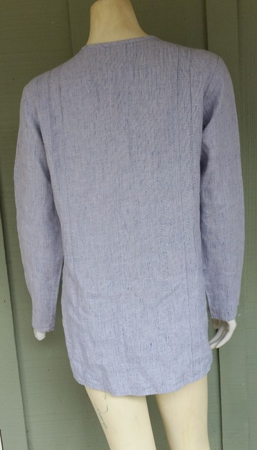 FLAX Heathered Linen Tunic