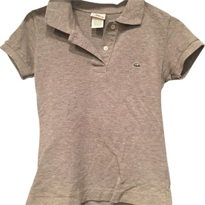 Lacoste T Shirt Gray
