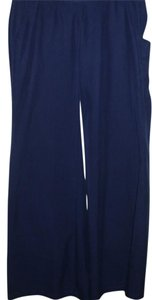 Old Navy Pajama Silky Soft Comfortable Wide Wide Leg Pants blue