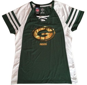 Majestic MLB Ladies Majestic NFL Packers Jersey