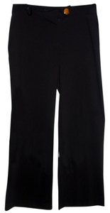 Alfani Wide Leg Trouser Pant Wide Leg Pants black