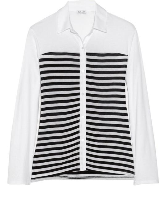 Splendid Button Up Cotton Tab Roll Up Modal Striped Button Up Soft Soft Button Up Cotton Button Up Modal Button Up Button Down Shirt Black And White