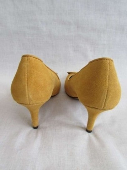 Ann Taylor LOFT Mustard Yellow Pumps