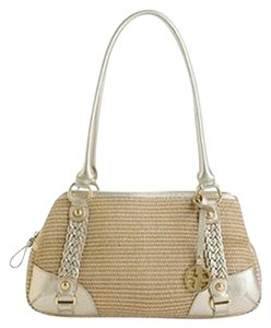 Giani Bernini Satchel in Off White
