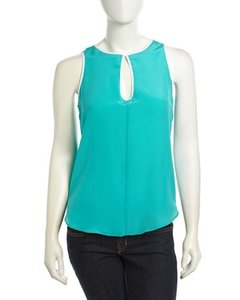 Naven Jade Silk Top Green