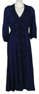 Navy Combo Maxi Dress by Free People