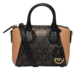 Michael Kors Mini Campbell Satchel Cross Body Bag