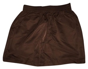 American Apparel Mini Skirt Brown