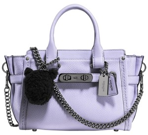 Coach Swagger Leather Swagger 20 37395 Cross Body Bag