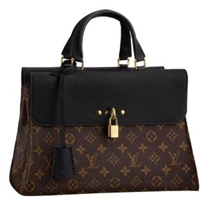 Louis Vuitton Venus Satchel in Monogram coated canvas - Colored cowhide leather trim