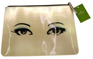 Kate Spade Kate Spade All Hours Winking Georgie - ADORABLE! Make-up Bag, iPad Bag - Zippered - New with Tags