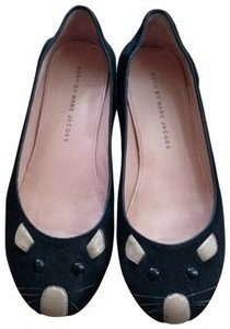 Marc by Marc Jacobs Pony Black Flats