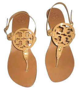 Tory Burch Holly Thong sandals NEW Tan Sandals