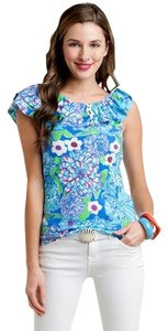 Lilly Pulitzer T Shirt Blue