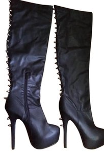 Dollhouse Studded Black Boots