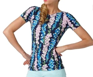 Lilly Pulitzer T Shirt Navy pink