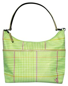 Ralph Lauren Tote in Neon green, yellow and pink