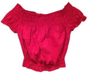 Other Ruffle Top Red