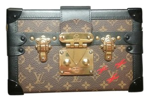 Louis Vuitton Petite Malle Lv Limited Edition Shoulder Bag
