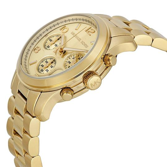 Michael Kors Michael Kors Midsized Gold-Tone Unisex Watch