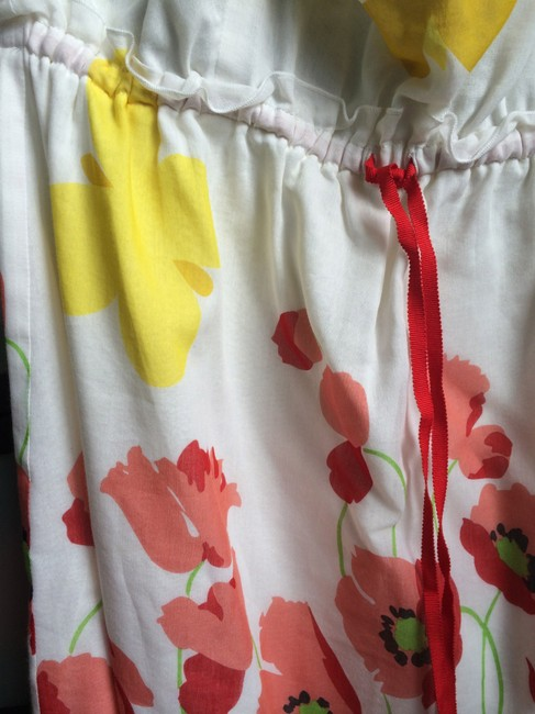 Anthropologie short dress White Butterfly Meadow Anna Sui For Style # 730038 on Tradesy