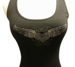 Express Top Black/ Silver