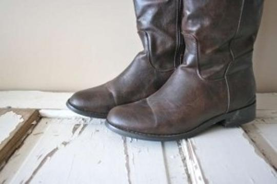 Breckelle's Over The Knee Dark Brown Boots