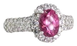 Pink Tourmaline & Diamond