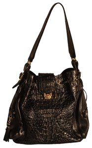 W.H. Petronelo W. H. Crocodile Shoulder Bag