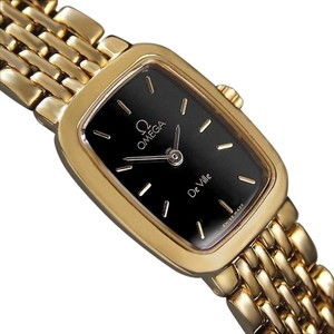 Omega Omega De Ville Ladies Bracelet Dress Watch - 18K Gold Plated