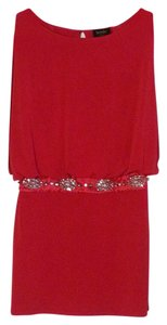 Laundry by Shelli Segal Blouson Rhinestone Dress