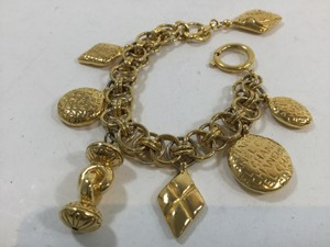 Chanel Chanel Gold Chain Bracelet