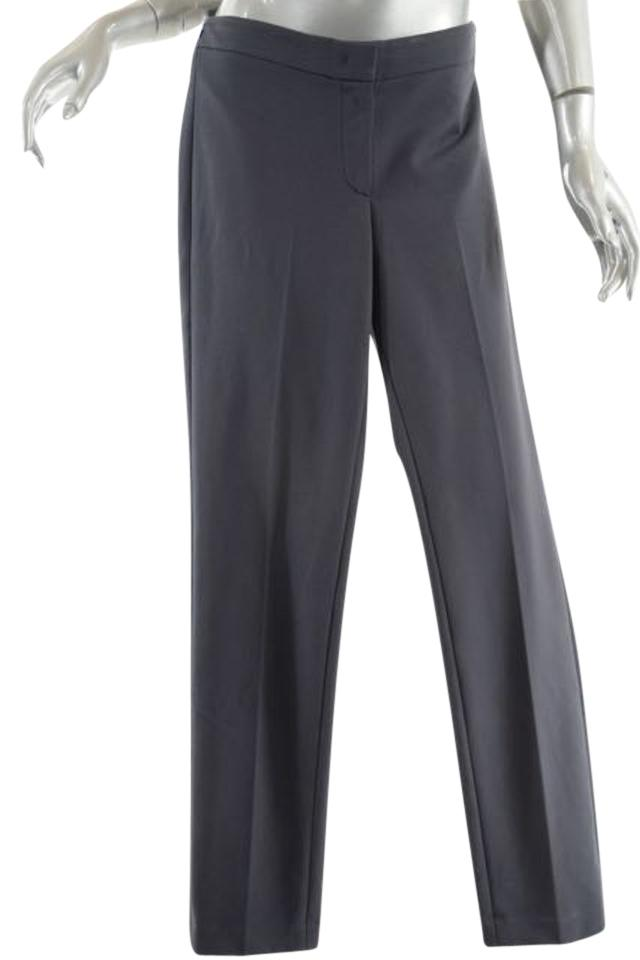 9f45accabbe7 Grey Charcoal Viscose Blend Clean Front Knit - 46 Us10 - Pants Size ...