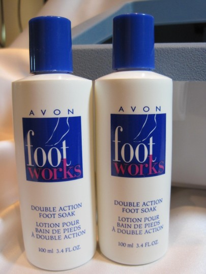Dazey Dazey Foot Saver Plus & 2-Avon Double Action Foot Soak (each- 100 ml/ 3.4 oz.) - [ Roxanne Anjou Closet ]