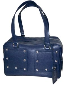Marc by Marc Jacobs Satchel in India Ink Blue